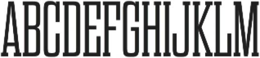 Dharma Slab M Light otf (300) Font UPPERCASE