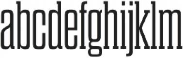 Dharma Slab M Light otf (300) Font LOWERCASE