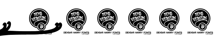 DHF Broffont Script Demo Font OTHER CHARS