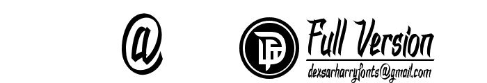 DHF Dexgraffiti Return Font OTHER CHARS