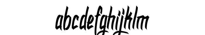 DHF Dexgraffiti Return Font LOWERCASE