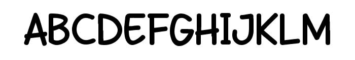 DHF Semangat 2012 Demo Bold Font UPPERCASE