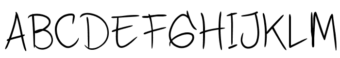 DHFQuinta'sDiary Font UPPERCASE