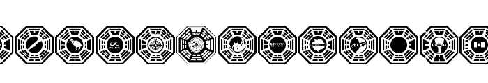 Dharma Initiative Logos  What Font is