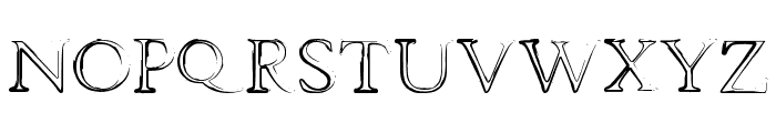 dhe mysterious Font UPPERCASE