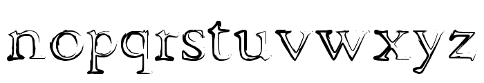 dhe mysterious Font LOWERCASE
