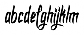 DHF Dexgraffiti Return Regular Font LOWERCASE