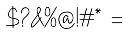 DHF Happy Birthday Ryan Allcaps Regular Font OTHER CHARS