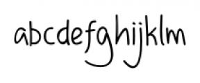 DHF Happy Birthday Ryan Regular Font LOWERCASE