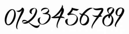 DHF Milestone Script Regular Font OTHER CHARS
