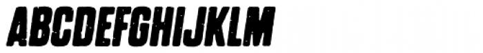 Dharma Gothic P Bold Italic Font UPPERCASE