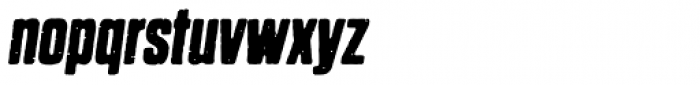Dharma Gothic P Bold Italic Font LOWERCASE
