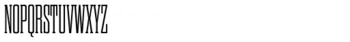Dharma Slab Condensed Light Font UPPERCASE