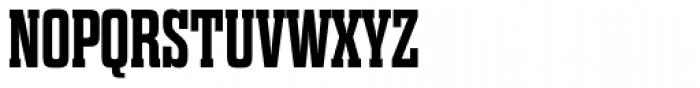 Dharma Slab Expanded Bold Font UPPERCASE