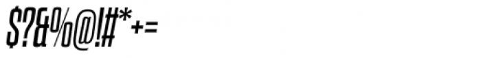 Dharma Slab Italic Font OTHER CHARS