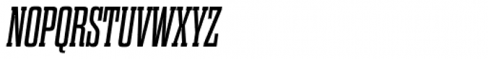Dharma Slab Italic Font UPPERCASE