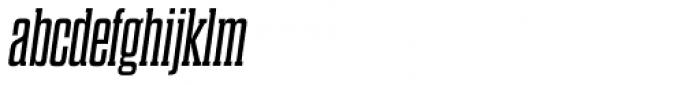 Dharma Slab Italic Font LOWERCASE