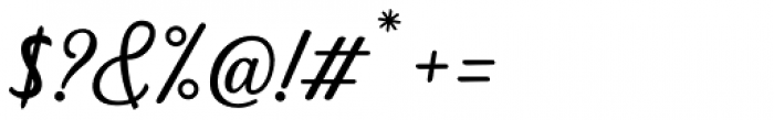 Dhealova Regular Font OTHER CHARS