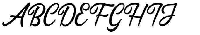 Dhealova Regular Font UPPERCASE