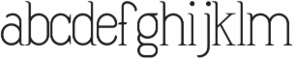 DIONIS Thin sefir otf (100) Font LOWERCASE