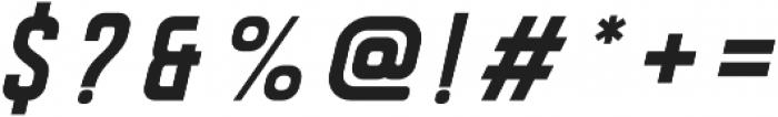 DISPLAYEDOblique otf (400) Font OTHER CHARS