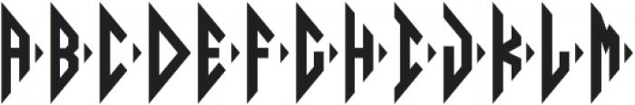 Diamond Monogram Right otf (400) Font UPPERCASE
