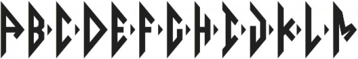 Diamond Monogram Right otf (400) Font LOWERCASE