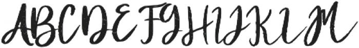 Diana Rough otf (400) Font UPPERCASE