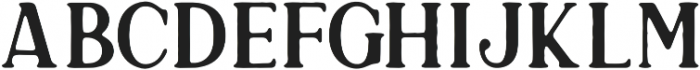 DianaWebber Caps Solid otf (400) Font LOWERCASE