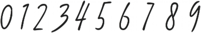 Diandra signature font ttf (400) Font OTHER CHARS