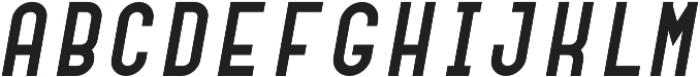 Dianna Bold Italic otf (700) Font UPPERCASE