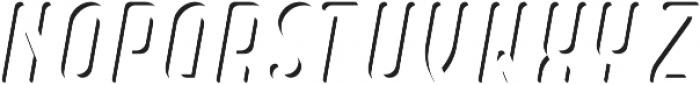 Dianna InlineShadow otf (400) Font LOWERCASE