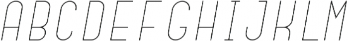 Dianna Light Italic otf (300) Font UPPERCASE