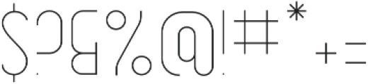 Dianna Light otf (300) Font OTHER CHARS