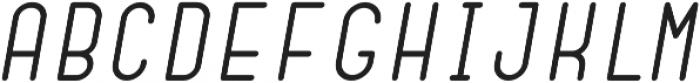 Dianna Oblique otf (400) Font LOWERCASE