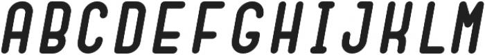 Dianna ObliqueBold otf (700) Font UPPERCASE