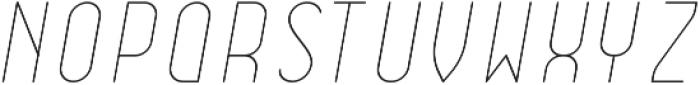 Dianna ObliqueLight otf (300) Font UPPERCASE