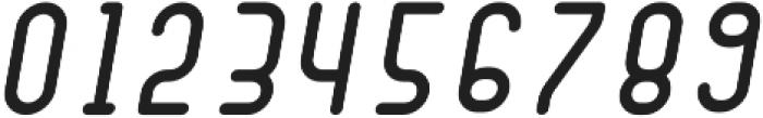 Dianna ObliqueSemibold otf (600) Font OTHER CHARS