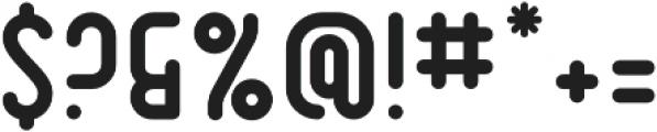 Dianna RoundBold otf (700) Font OTHER CHARS