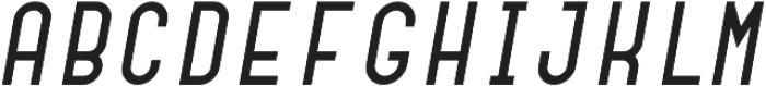 Dianna Semibold Italic otf (600) Font UPPERCASE