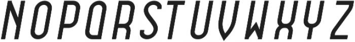 Dianna Semibold Italic otf (600) Font LOWERCASE