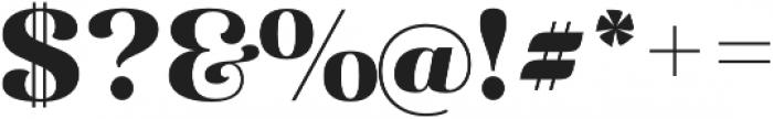 Diara Black otf (900) Font OTHER CHARS