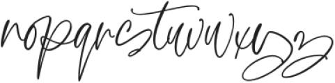 Diary Writing otf (400) Font LOWERCASE