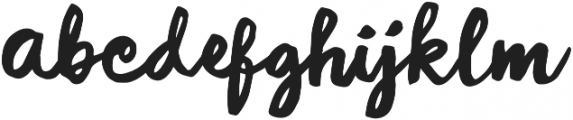 Diarycurl otf (400) Font LOWERCASE