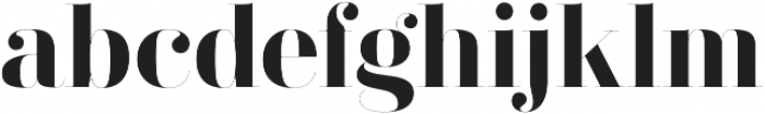 Didonesque Ghost Bold otf (700) Font LOWERCASE