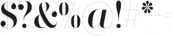 Didonesque Ghost otf (400) Font OTHER CHARS