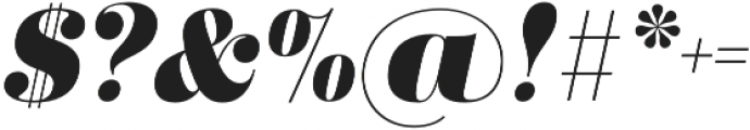 Didonesque Lite Black Italic otf (900) Font OTHER CHARS