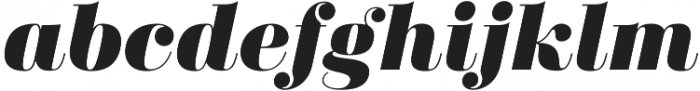 Didonesque Lite Black Italic otf (900) Font LOWERCASE