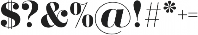 Didonesque Lite Bold otf (700) Font OTHER CHARS