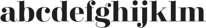 Didonesque Lite Bold otf (700) Font LOWERCASE